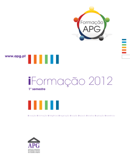 iFormação 2012