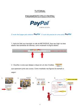 Tutorial para Pagamento pelo PayPal Cod