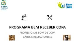 FBHA - Programa Bem Receber Copa