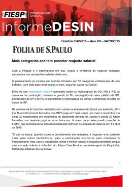 Informe Desin 826 Ano VII - 04-09-2015