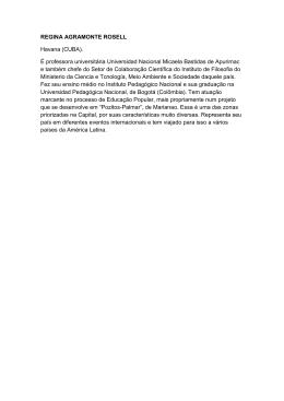 Programao completa regina agramonte rosell havana cuba ccuart Image collections