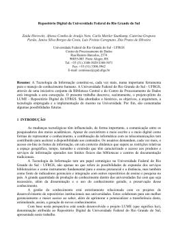 Repositório Digital da Universidade Federal do Rio