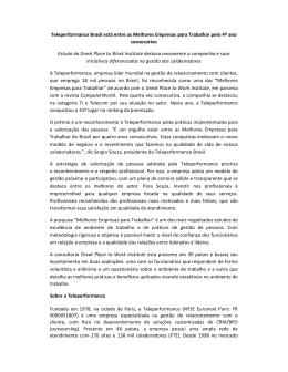 Teleperformance Brasil está entre as Melhores Empresas para