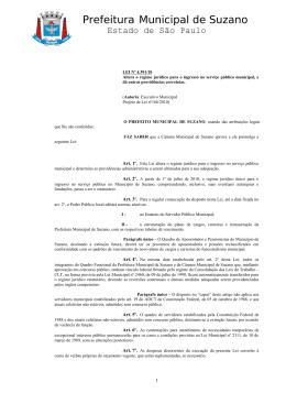 4) Estatutários - Servidores de Suzano