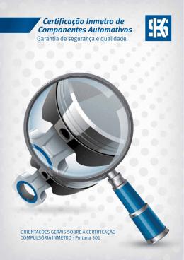 17 MAR Certificação Inmetro de Componentes Automotivos
