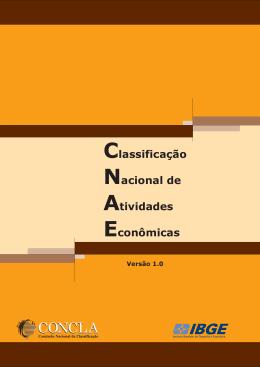 CNAE, o IBGE