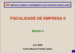 IRS 2006 Módulo 4