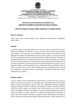 Direito, Meio Ambiente e Ecologia Política