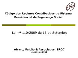 Bases de incidência contributiva - AFA Alvaro, Falcão & Associados