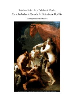 Nono Trabalho De Hercules - A Tomada Do Cinturao De Hipolita