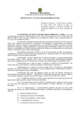 Resolução 121/2010