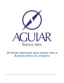 20 dicas especiais para quem vem a Buenos Aires de cruzeiro