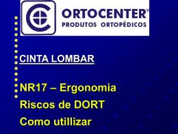 NR17 – Ergonomia Riscos de DORT Como utillizar
