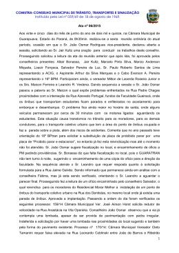 Ata nº 06/2015
