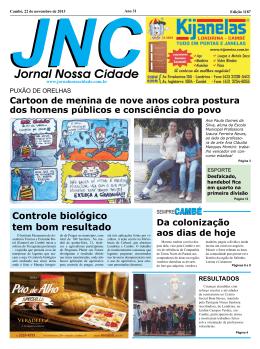 resultados - Jornal Nossa Cidade