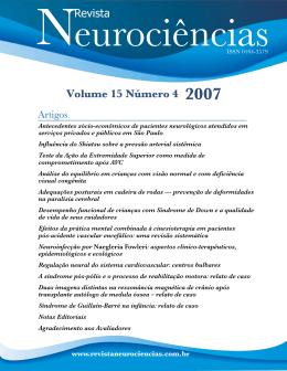 Influência do Shiatsu sobre a pressão arterial sistêmica (PDF