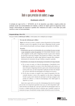 Leis do Trabalho Tudo o que precisa de saber,2.ª
