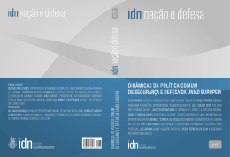 Texto Integral - Instituto da Defesa Nacional