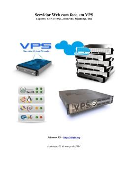Servidor Web com foco em VPS