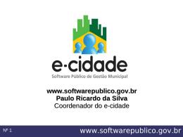 Software público de gestão municipal