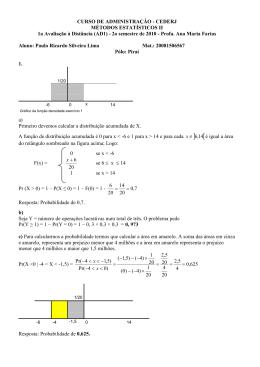 AD1 Métodos Estatísticos 2 Paulo Ricardo