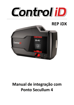 Manual de Integracao do controlID + Ponto 4