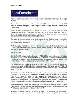BIBLIOTECA DA Raphael Gomes, advogado: A renovação das