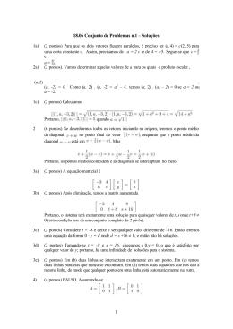 18.06 Conjunto de Problemas n.1 – Soluções