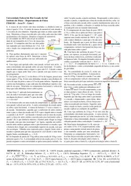 Lista 1 RES - Instituto de Física