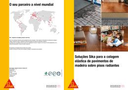 Soluções Sika para a colagem elástica de pavimentos de madeira