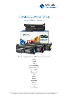 toners compatíveis - Seek - Consumiveis de Informática e Escritório