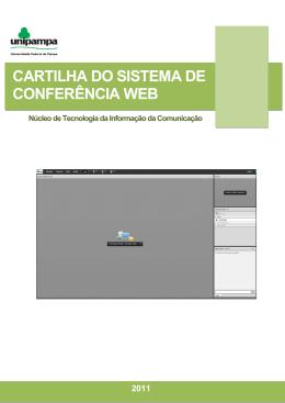 CARTILHA DO SISTEMA DE CONFERÊNCIA WEB - NTIC