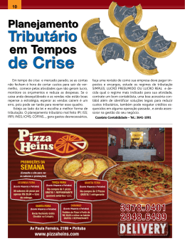de crise - Revista Mais Real