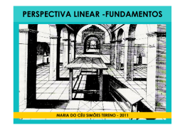3 - PERSPECTIVA LINEAR