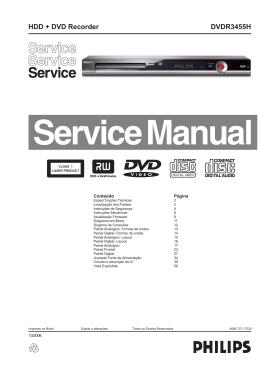 DVDR3455H HDD + DVD Recorder