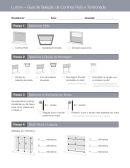 Roller Shade Selection Guide