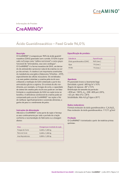 CreAMINO® - Feed Additives.evonik.com