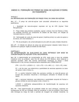 Anexo II - Usina Santa Adélia