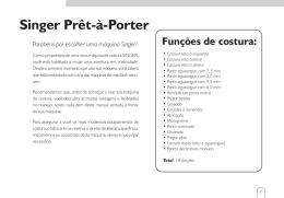 Singer Prêt-à-Porter - Hospedagemdesites.Ws