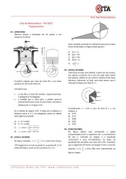 Trigonometria - Exercícios - Prof. Alex Pereira