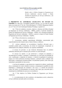 Lei n° 10.165, de 25 de novembro de 2013