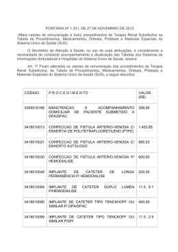 PORTARIA Nº 1.331, DE 27 DE NOVEMBRO DE 2013 Altera
