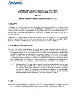 Anexo III - Termo de Confidencialidade [ 232KB | Pdf ]