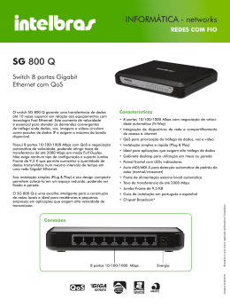 SG 800 Q - Intelbras