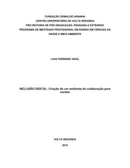 Texto da dissertação