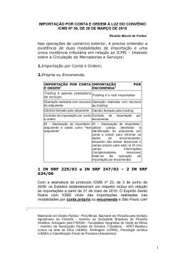 ARTIGO RINALDO - IDTL - Instituto de Direito Tributário de Londrina