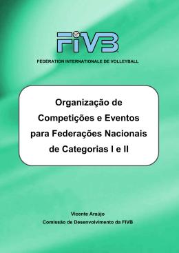 Organização de Competições e Eventos para Federações
