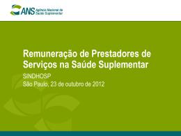 Wladmir Ventura de Souza - ANS