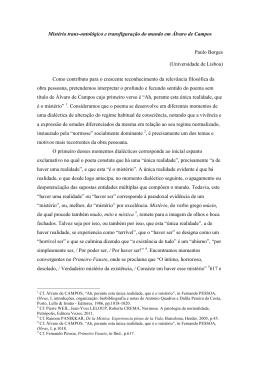 Paulo Borges - III Congresso Internacional Fernando Pessoa