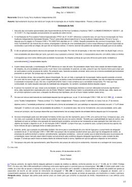 Processo CVM Nº RJ 2011/13530 (Reg. Col. n.º 8055/2011